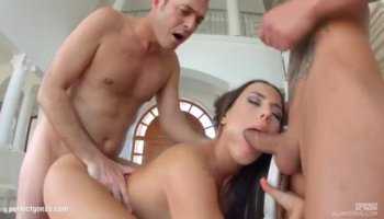 Black dude bangs Maggie Green and Joslyn and they cum numerous times