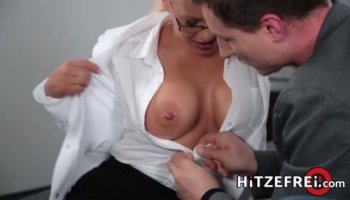 Hot and hairy Russian girl Barbara shows you her bush